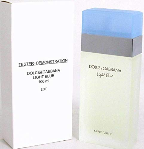 Light Blue by Dolce & Gabbana Light Blue by Dolce & Gabbana D&G Perfume Women 3.3/3.4 oz New Tester with Cap