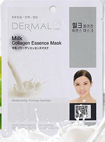 DERMAL Dermal Korea collagen Essence Mask- Milk (10 pack)