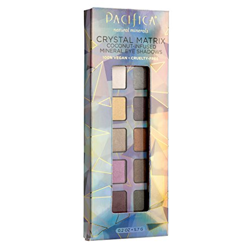 Pacifica - Pacifica Beauty 10 Well Eye Shadow, Crystal Matrix, 0.2 Ounce