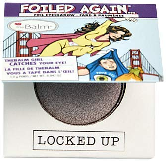 Miny Beauty Cosmetics - The Balm Cosmetics Foiled Again Eyeshadow (Locked Up)