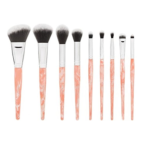 BHCosmetics - Rose Quartz 9 Piece Brush Set