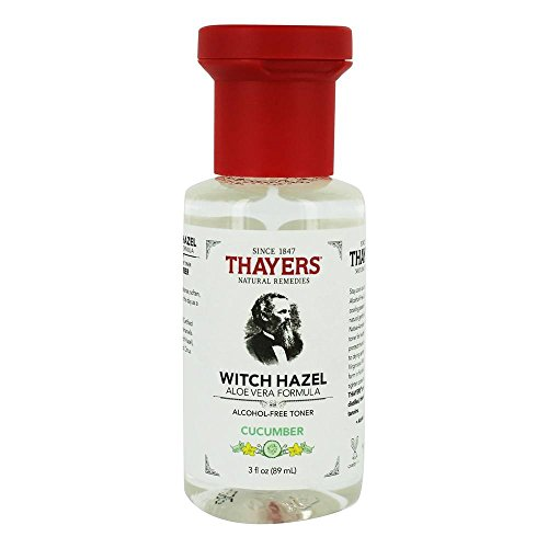 THAYERS - Thayers Cucumber Witch Hazel with Aloe Vera Alcohol-free (3 Ounces) Travel Size