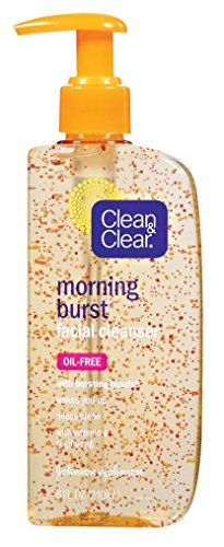 Clean & Clear - Clean & Clear Cleanser Morning Burst 8 Ounce Pump (Oil-Free) (240ml) (2 Pack)