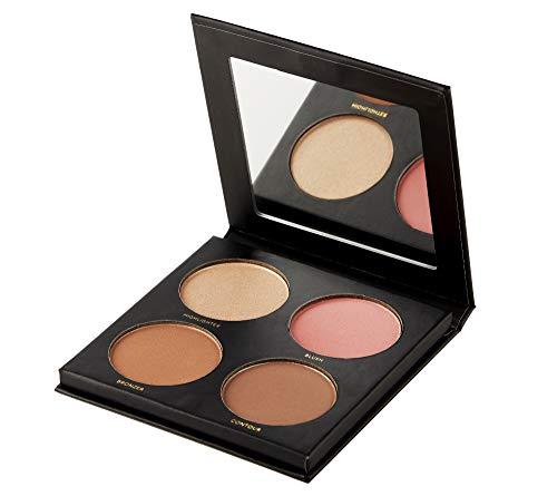 FabFitFun - ISH Cosmetics Cream Contour Concealing Foundation Kit Make Up Palette (Medium/Dark)