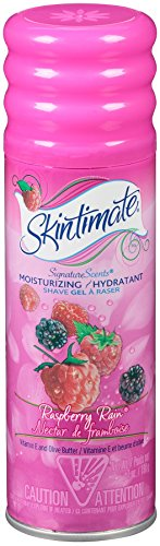 Skintimate - Skintimate Signature Scents Moisturizing Shave Gel for Women Raspberry Rain with Vitamin E and Olive Butter, 7 Ounce (Pack of 6)
