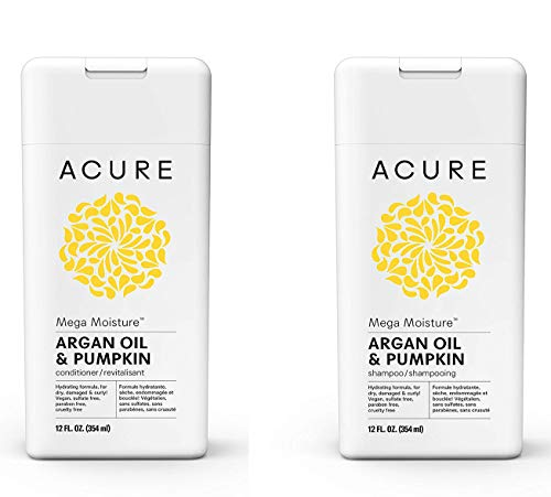 Acure - Acure Organics Moroccan Argan Oil and Argan Stem Cell Natural Shampoo (Pack of 2)