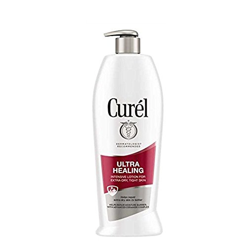 Curel - Curel Ultra Healing 24-Hour Daily Moisturizing Lotion for Extra-Dry Skin With Extra-Strength Skin Hydrators, 13-Ounce Dispenser (Pack of 3)