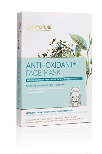 Karuna - Karuna Anti-Oxidant + Face Mask, Pack of 4, 3.80 fl. oz.