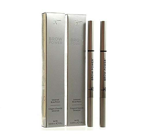 Professional Beauty - 2 Packs Brow Power Universal Eye Pencil Taupe 0.16 g Each