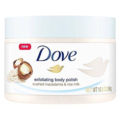 Dove - Exfoliating Body Polish, Macadamia & Rice Milk