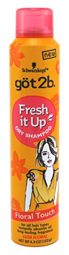 GOT 2B Fresh It Up Dry Shampoo Floral Touch