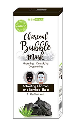 BioMiracle - Charcoal Bubble Sheet Mask