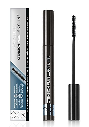 Marcelle - Marcelle Xtension Plus Skyline Mascara, Black, Hypoallergenic and Fragrance-Free, 0.23 fl oz