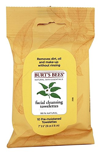 Burt's Bees - Facial Cleansing Towelettes White Tea
