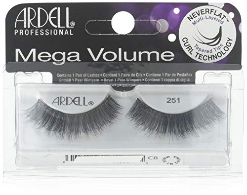 Ardell Ardell Mega Volume #251 Black Lashes (2 Pack)