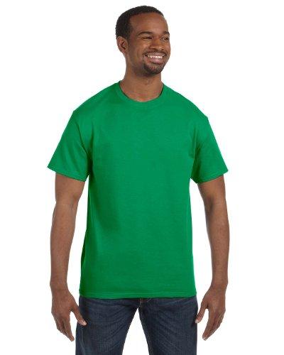Gildan - Gildan 5.3 oz. Heavy Cotton T-Shirt, X-Large, Irish Green