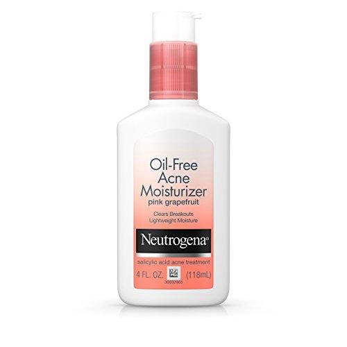 Neutrogena - Oil-Free Facial Acne Moisturizer With Salicylic Acid, Pink Grapefruit