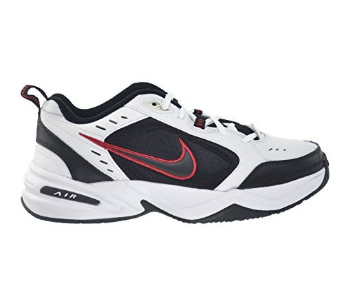 NIKE - Nike Air Monarch IV Men's Shoes White/Black-Varsity Red 415445-101 (10 D(M) US)