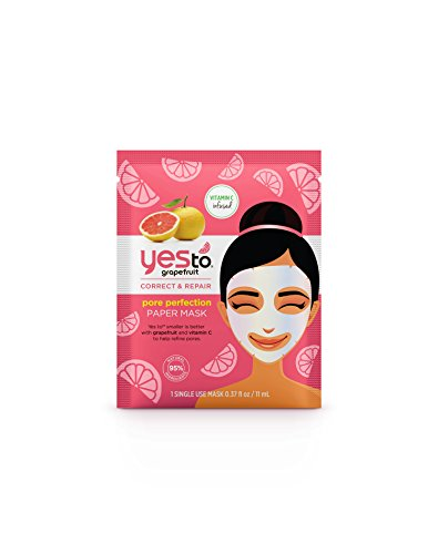 Yes To - Grapefruit Paper Face Mask