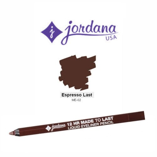 Jordana - Made To Last Eyeliner, Espresso