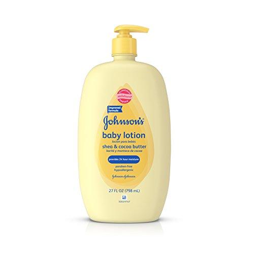 Johnson's Baby - Johnson's Baby Shea & Cocoa Butter Lotion for Sensitive Skin, 27 Fl. Oz.