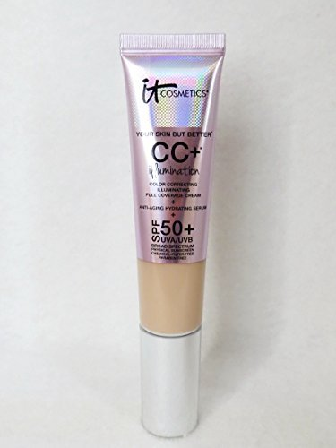 It Cosmetics IT Cosmetics Your Skin But Better CC+ Cream with SPF 50+ Light - Full Size 1.08 oz/ 32 mL