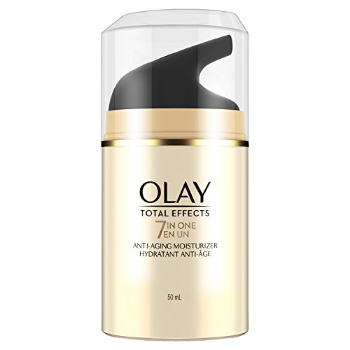 Olay - Olay Face Moisturizer, Total Effects 7-in-1 Anti-Aging, 1.7 fl oz