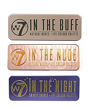 W7 - W7 Natural Nudes Eye Colour Palette (W7 Color me Buff+In The Night+ In The Nude)