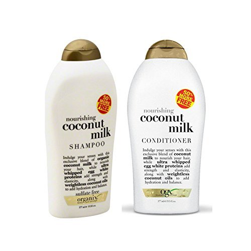 Organix - Organix: Nourishing Coconut Milk Shampoo + Conditioner (Combo Pack) (19.5 OUNCE SET)