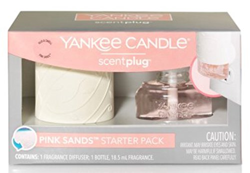 Yankee Candle - Yankee Candle Pink Sands Scent Diffuser and Refill Starter Kit