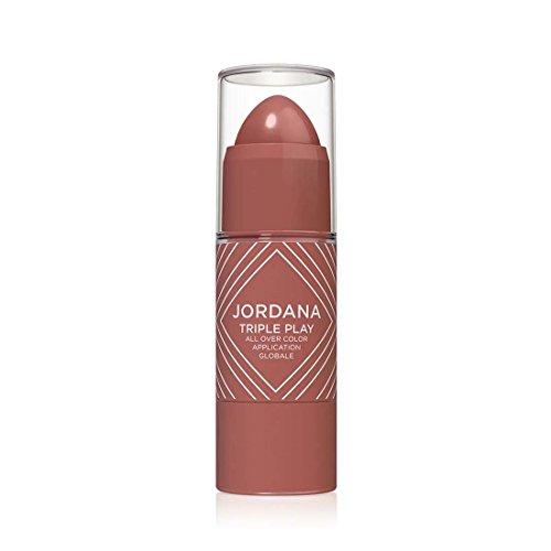 Jordana Cosmetics - JORDANA Triple Play All Over Color - Spicy Rose