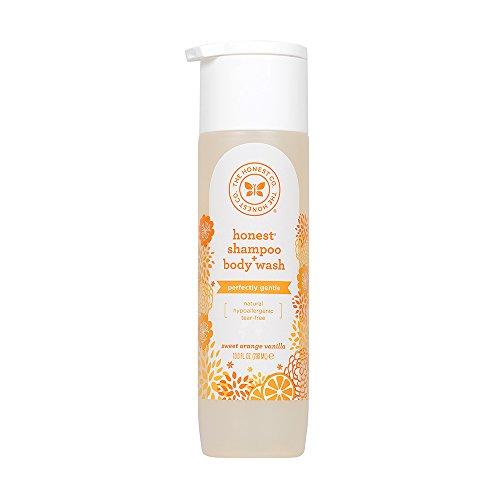The Honest Company - Honest Shampoo & Body Wash, Perfectly Gentle Sweet Orange Vanilla, 10 Ounce