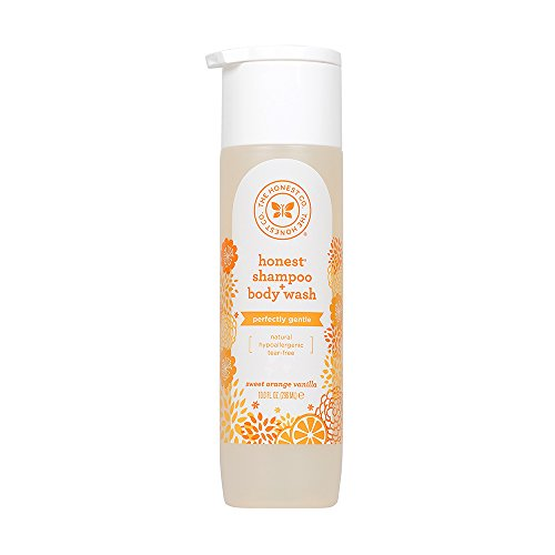 The Honest Company - Honest Shampoo & Body Wash, Perfectly Gentle Sweet Orange Vanilla, 10 Ounce