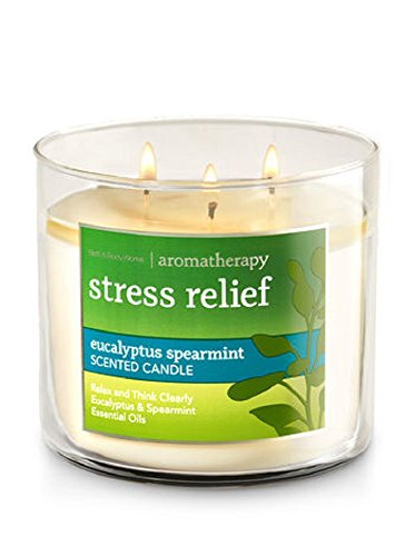 Bath & Body Works - 3-wick Limited Edition Candle, Eucalyptus Spearmint