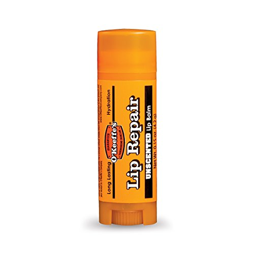 O'Keeffe's - O'Keeffe's Unscented Lip Repair Lip Balm for Dry, Cracked Lips, Stick