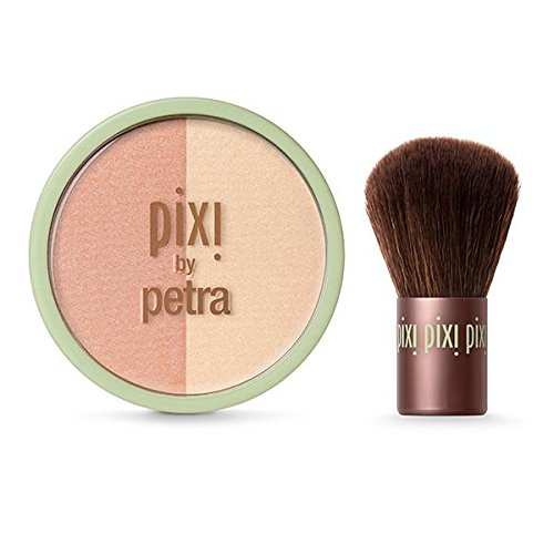 Pixi - Pixi - Beauty Blush Duo + Kabuki Peach Honey