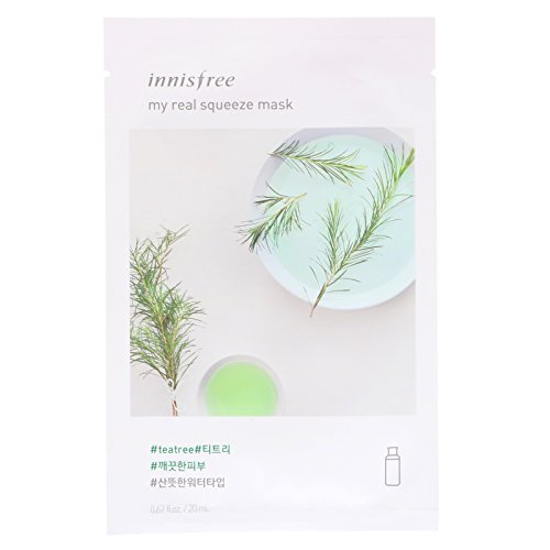 Innisfree - INNISFREE My Real Squeeze Mask(Teatree) 20ml