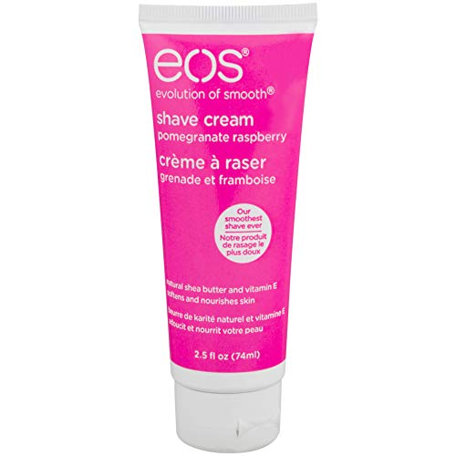 EOS - eos Shave Cream Pomegranate Raspberry, 2.5 Ounces Each (Value Pack of 12)