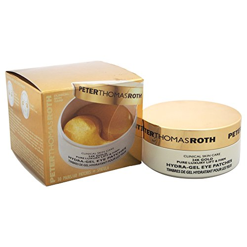 Peter Thomas Roth - Peter Thomas Roth 24K Gold Pure Luxury Lift and Firm Hydra-Gel Women's Eye Patches, 60 Count