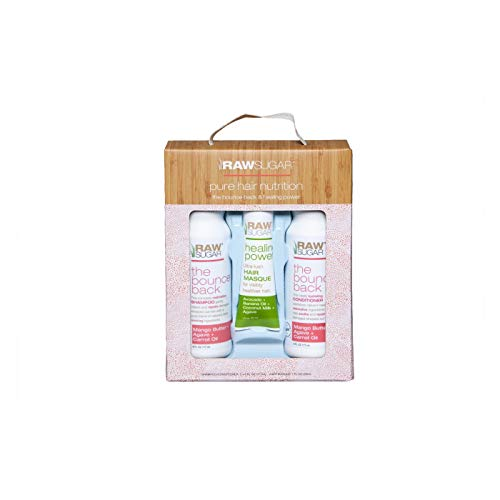 Sugar in the Raw - Raw Sugar Holiday Hair Trio Gift Set - Bounce Back, pack of 1
