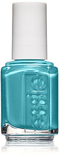 essie essie nail polish, garden variety, teal blue nail polish, 0.46 fl. oz.