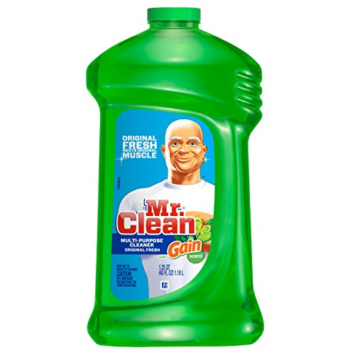 Mr. Clean - Mr. Clean with Gain Multi-Surface Cleaner, Original Fresh Scent, 40 fl oz (Packaging May Vary)