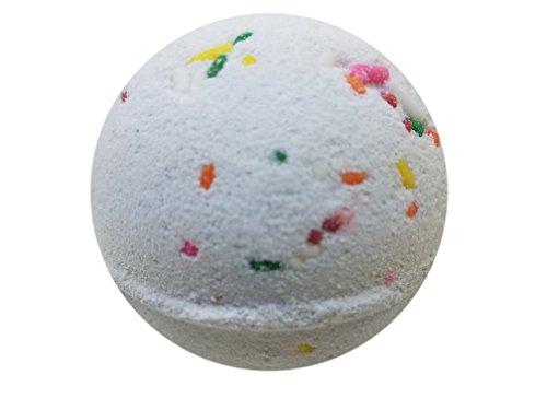 The Bath Bomb Co. - Happy Birthday Gift Bath Bomb By The Bath Bomb Co. - 5.7oz - Anti-Aging - Epsom Salts - Coconut Oil - Kaolin Clay - Skin Moisturizers - Aromatherapy Bath - Add to Bubble Bath (Happy Birthday)