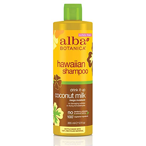Alba Botanica - Drink It Up Coconut Milk Hawaiian Shampoo