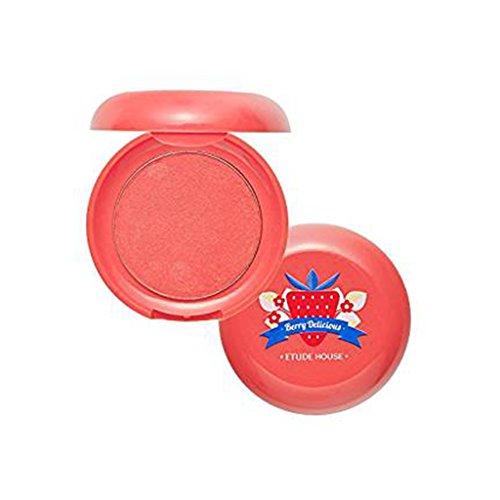 Etude House - Berry Delicious Cream Blusher, Ripe Strawberry