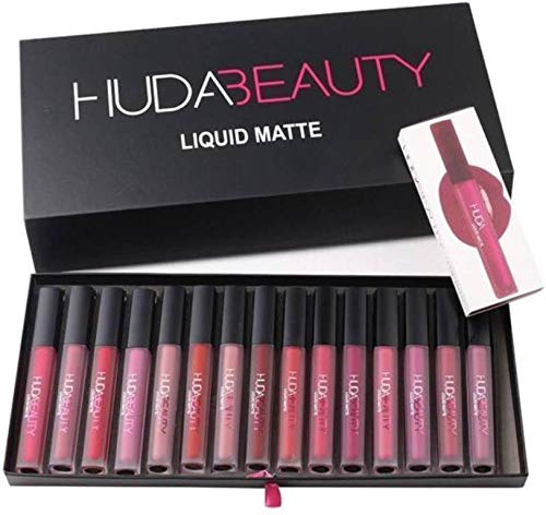 Huda Huda Beauty Matte Liquid Lipstick Collection Set Of 16