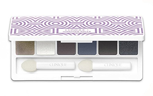 Clinique Clinique Limited Edition All About Shadow 6-pan eyeshadow palette designed by Jonathan Adler.12oz/3.6g