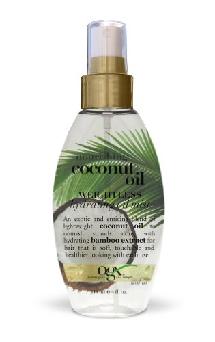 OGX - OGX Weightless Hydrating Oil Mist, Nourishing Coconut, 4 Ounce