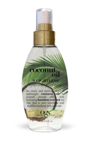 OGX - OGX Weightless Hydrating Oil Mist, Nourishing Coconut, 4 Ounce