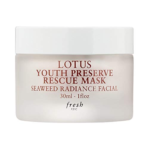 Fresh - Fresh Lotus Youth Preserve Rescue Mask Seaweed Radiance Facial 1 fl oz / 30 ml